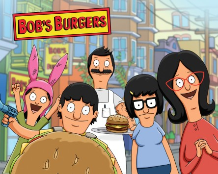 Season 1 and 2 of Bob's Burgers on Netflix